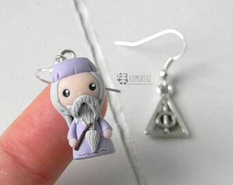 Dumbledore inspired, Earrings