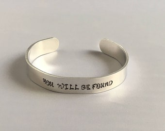 You Will Be Found Dear Evan Hansen Musical - #youwillbefound - musical dear evan hansen broadway jewelry Theater lover gift