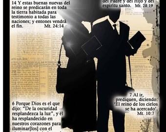 """Espanol Note Card """"De la Oscuridad"""" -Scriptural"""