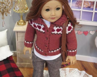 Newly Released! 18 Inch Doll Gray Linen Jeans - Realistic Modern 18 Inch Doll Clothes - Liberty Jane Jeans - American Made Girl Doll Clothes