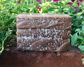 PUMPKIN SPICE Sea Salt Soap, Handmade Soap, Cold Process Soap, Detoxing Soap