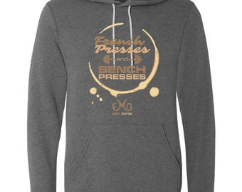 LIMITED EDITION French Presses Bench Presses, Super Soft Hoodie, Workout Hoodie, Fitness Sweatshirt, Fall, Coffee, Workout, Gym