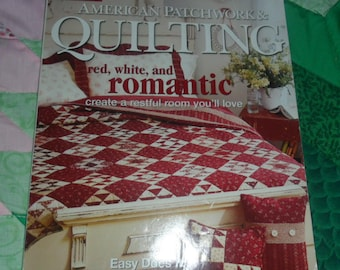 American Patchwork & Quilting: Red, White, and Romantic