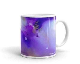 Purple Radiance Mug