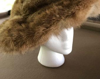 Wide Brimmed Genuine Women's Coyote Hat