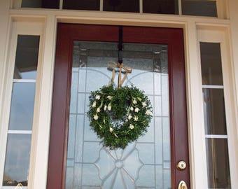 Valentine's Day Wreath-Valentine-Valentines-Wreath-Wreathes-For Front Door-Valentine Wreath for Door-Heart Wreath-Heart Shaped Wreath