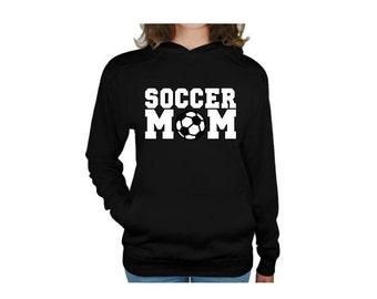 Soccer Mom Sweatshirt; Soccer Mom Hoodie, Soccer Hoodies, Soccer Mom, Soccer Sweatshirt, Soccer Mom Shirt, Mom Sweatshirt, Sports Mom