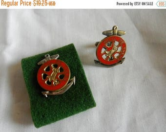 Summer Sale WW2 US Army Transportation Corps Well Be There Cufflink and DI Insignia