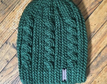 slouchy cable twist
