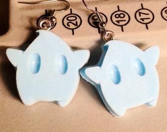 Luma Earrings - Star Earrings - Blue Earrings - Gamer Earrings - Mario Earrings
