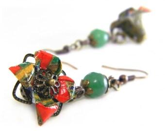 Origami earring Natsukoi