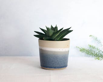 Sea Dawn Small Planter // Handmade // Coastal Inspired // Planter // Plant Pot // Housewarming // New Home // For her // For him