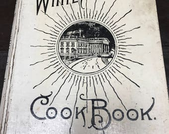 1887 White House cookbook