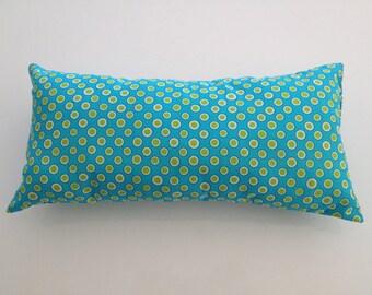 small cushion rectangular dots fabrics