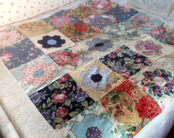 """40 x 10"""" squares vintage pieces from the 1940's to 1980's. A layer cake. A patchwork quilt dream pack."""