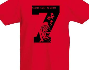 T-shirt ERIC CANTONA Manchester United football player