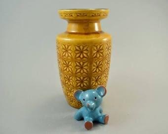 Vintage vase / Scheurich / Decor Prisma / 261 18 | West-german pottery | 60s