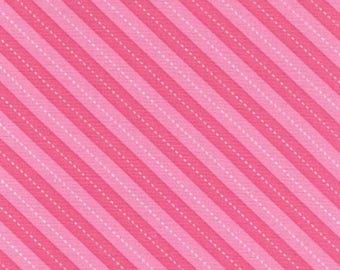 Balloon Pink and White Stripe by Michael Miller - DC7199-PINK-D