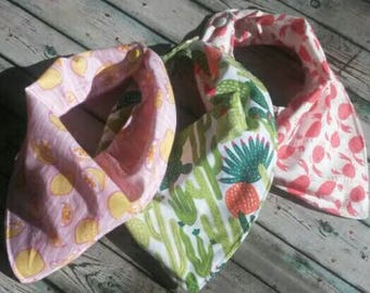 Bandana Bibs summer 3 pack