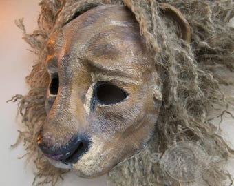 Leo, Lion mask, big cat, masquerade mask, King, Anthro, Zodiac, lion mane options, custom made, custom options, made to order