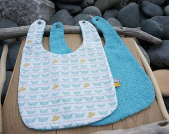 baby bib, boy bib, reversible bib, kids towel, bib Terry cotton bib, bib girl boy bib