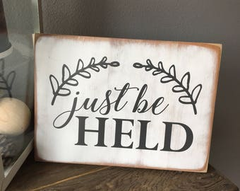 This Is Our Happy Place Slatted Wood Art Sign Home Wall