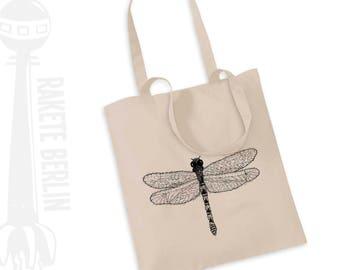 Tote Bag   ''dragon-fly - drawing'