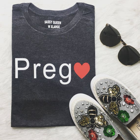 Prego / Statement Tee / Graphic Tee / Statement Tshirt / Graphic Tshirt