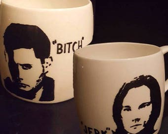 Supernatural Sam & Dean Winchester Mug