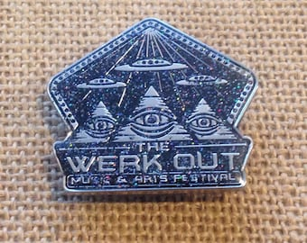 Werk Out 2017 Silver AE pin