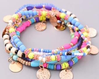 Summer Carnival Bracelet Set
