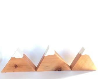 Mountain Blocks, Redwood Mountain, Mountain Decor