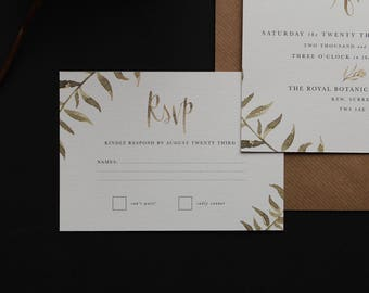 The Covent Garden Wedding Set - Packs of 25 - RSVP Bundle