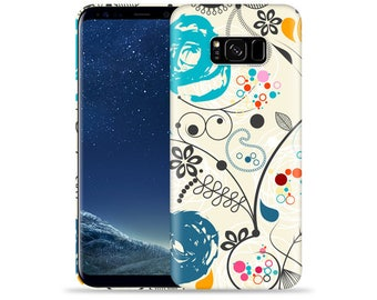 For Samsung Galaxy S8 Plus Case - Galaxy S8+ Case #Paisley Artwork Design Hard Phone Case