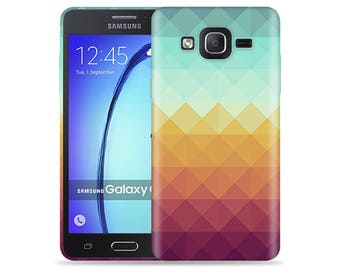 For Samsung Galaxy On5 Case - On 5 Case - SM-G5500 Case #Pixel Waves Cool Design Hard Phone Case