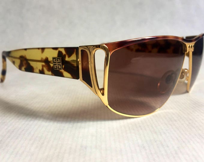 Givenchy 158 BRN Vintage Sunglasses - New Unworn Deadstock