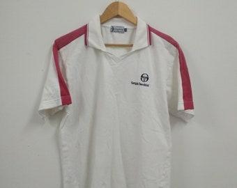 Rare Vintage Sergio Tacchini Polo Tshirt Size M