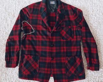 Pendleton Punk Plaid Coat