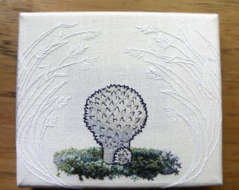 Puffball Embroidery