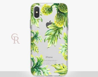 Leaves iPhone X Clear Case For iPhone 8 iPhone 8 Plus - iPhone X - iPhone 7 Plus - iPhone 6 - iPhone 6S - iPhone SE - Samsung S8 - iPhone 5