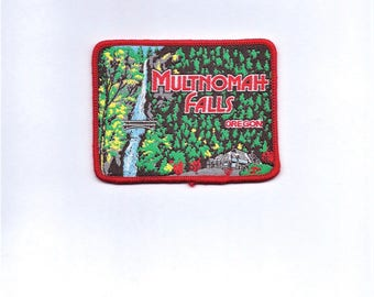 Vintage Multnomah Falls Oregon Patch