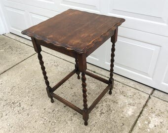Small Wood Table Etsy