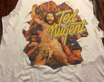 Vintage Ted Nugent World Tour