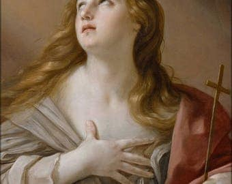 40% OFF SALE Poster, Many Sizes Available; Guido Reni The Penitent Magdalene