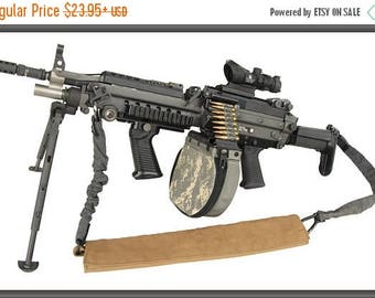 20% Off Sale - Poster, Many Sizes Available; Improved M249 Machine Gun