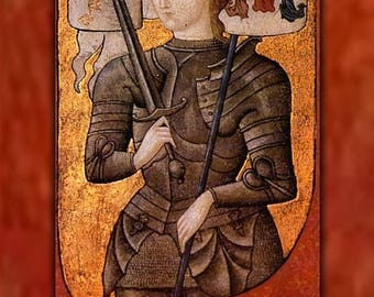 20% Off Sale - Poster, Many Sizes Available; Joan Of Arc