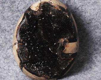 Natural Septarian Dragon Stone Huge Crystal Lized Geode Egg , Crystal Healing ,Crystal Egg #776A