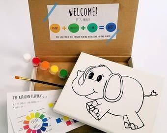Elephant Paint Kit