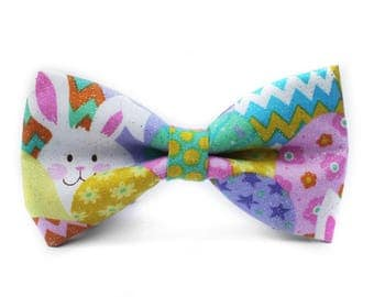 Easter Bow Tie, Easter Bunny Bowtie, Spring Bowtie, Dog Bow Tie, Mens Bow Tie, Boys Bow Tie, Kids Bow Tie, Toddler Bow Tie, Bow Tie, For Him