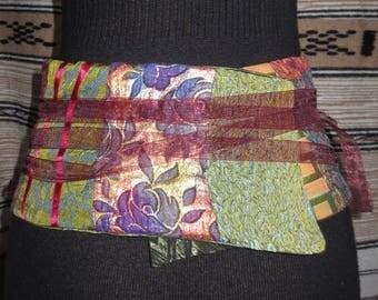 Japanese fabric obi belt precious/REF OBI3
